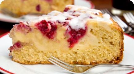 Prăjitură cu mascarpone și zmeură